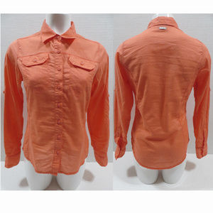 Columbia top Small Camp Henry Solid Long Sleeve